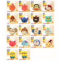 Key Cap cover gantungan kunci lucu hello kitty minion lilo doraemon