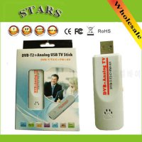 [globalbuy] Digital DVB t2 PVR Analog USB TV stick Tuner Dongle PAL/NTSC/SECAM with antenn/4977918