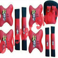 Bantal Mobil Minnie Mouse 2in1+3in1