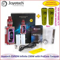 Joyetech ESPION Infinite with ProCore Conquer + 2pcs 21700 Battery - Red