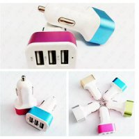 Car Charger Usb ( 3 colokan )