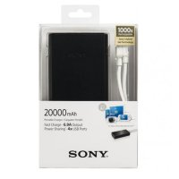 Sony Powerbank / Portable Charge CP-S20 20000 mAh - Black
