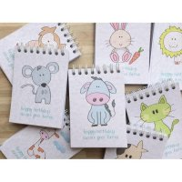 24 Pcs Mini Animal Coloring Books / 24 Biji Buku Mewarnai Anak