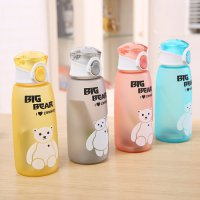 Botol minum karakter Big Bear 500ml / Big Bear Water Bottle