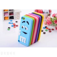 [globalbuy] 3D M&Ms Chocolate Rainbow Beans Case For APPLE iPOD TOUCH 5 5TH / Touch 6 6th /5006800