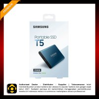 Samsung 250GB T5 Portable Solid-State Drive - SSD (Blue)