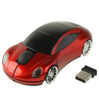 Wireless Car Style Optical Mouse 2.4GHz Working Distance Up To 10m Mobil
