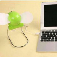 (Ready) Kipas Angin Duduk Mini USB Portabel / USB Portable Fan