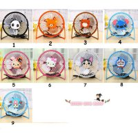 (Kipas Angin Listrik) kipas angin mini usb lucu,portable cooling desktop fan,usb fan