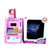 ATM MINI HELLO KITTY STITCH MAINAN EDUKASI ANAK Celengan Koin Kertas