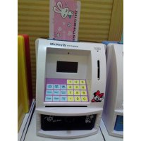 ATM MINI STITCH MINNIE MOUSE MAINAN EDUKASI ANAK Celengan Koin Kertas
