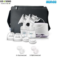 (Promo Hari Ini) Avent Twin Electric Natural Comfort Breastpump Breast Pump, Double