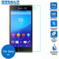 [globalbuy] For Sony Xperia M5 Tempered Glass Screen Protector 2.5 9h Safety Protective Fi/5344736