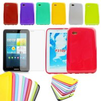 [globalbuy] Silicone Rubber Case Cover For SAMSUNG Galaxy Tab 2 7.0 7 inch Tablet P3100 P3/5517378
