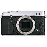 Fujifilm X-E1 Body Only - Silver