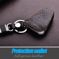 [globalbuy] leather car key covers case stickers wallet for jeep wrangler grand cherokee c/3293535