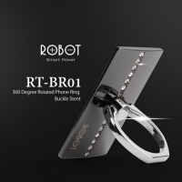 Vivan Robot iRing RT-BR01 Luxury Diamond Stand Holder Handphone