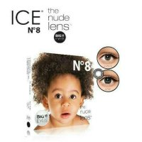 Softlens Exoticon X2 N8 Black nude Baby eyes
