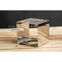 Stainless Square Gas Rack for Mini Gas Burner