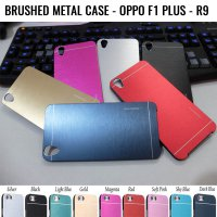 Brushed Metal Case Oppo F1 Plus - R9