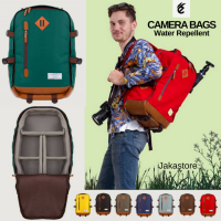 Tas Kamera Ransel Tahan Air FREE RainCover - Camera Backpack Multiguna