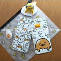 Gudetama Clear Jelly Case iPhone 6/iPhone 6 Plus/Galaxy S6/S6 Edge/Galaxy Note 4/S5/Note 3/G4/G3