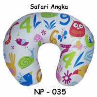 Cherry Bantal Menyusui Motif Safari Angka / Nursing Pillow
