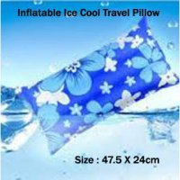 High Quality Inflatable Ice Cool Travel Pillow