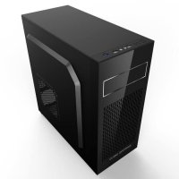 Casing PC CPU CUBE GAMING VESS - 1X12CM Led Fan - Dust Filter -USB 3.0