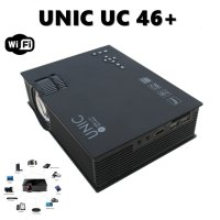 UNIC UC46 WIFI Projector Portable Mini LED 1200 Lumens