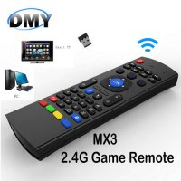 [globalbuy] 2.4G Remote Control MX3 Air Mouse Wireless Mini Keyboard With IR Learning Mode/5495958