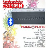 Speaker Portable Simbadda CST-909N | CST-909-N | CST909N - Bluetooth