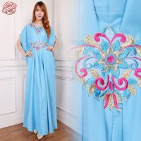 SB Collection Dress Maxi Revalina Longdress Kaftan Gamis Jumbo Batik Wanita