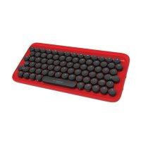Elysium Dot Mechanical Keyboard Mac and iOS Compatible Bluetooth - Red Black