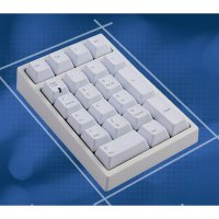 (Termurah) Keyboard Mechanical Leopold FC210TP/NW -PBT 1.5MM thick