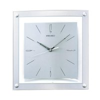 SEIKO QXA330S Quiet Sweep Wall Clock - Grey [32 cm]