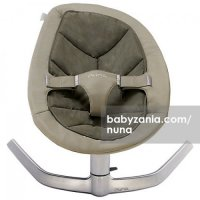 Nuna Leaf (Baby Bouncer) - Almond | No Noise, Smooth, No batteries | Recommended use: birth to 60 kg