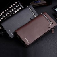 GROSIR/WHOLESALE New Men Leather Card Cash Receipt Holder Organizer Bifold Wallet Purse
