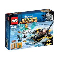 LEGO Arctic Batman Vs Mr.Freeze Aquaman On Ice 76000 Mainan Blok & Puzzle