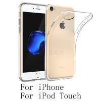 [globalbuy] For Apple iPod Touch 6 iPhone 7 6 Plus 5 SE 5S Tomoral Crystal Clear Cover Dot/5182519