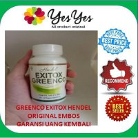 Exitox Greenco Handel - Green Coffee isi 30pcs original
