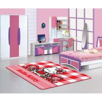 Karpet Anak Karakter Hello Kitty Original Ukuran 130x185cm