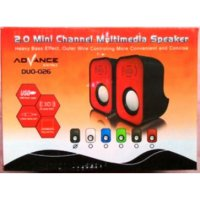 Speaker Portable Advance Duo-026 FLaptop Notebook Netbook Pc Komputer HargaPrommo01