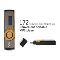 [globalbuy] Brand Portable Real 8GB 172 USB MP3 Music Player for Sony With Screen Clip FM /3685695