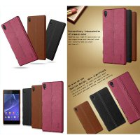 Imak Back Leather Case Sony Xperia Z5 Premium - Z5 Premium Dual