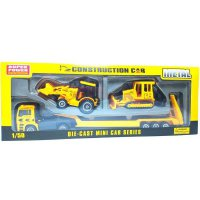 (Diskon) DIE CAST MINI CAR SERIES , CONSTRUCTION CAR