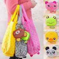 TAS BELANJA LIPAT KARTUN/FOLDABLE SHOPPING BAGS WATERPROOF BTA059