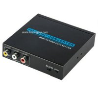 Hdmi To 3 Rca Av Converter Box - Hd10Ii Termurah01