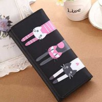DOMPET PANJANG WANITA MODEL CUTE CAT