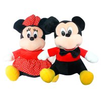 Istana Kado Boneka Sitting Disney Character Mickey & Minnie Mouse 15' All Items Sale